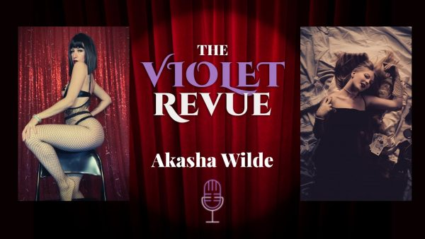 Podcast Poster with Akasha Wilde