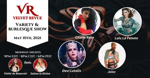 May 10th Variety & Burlesque Show